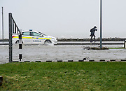 26/01/2016 Flooding in Salthill after Storm Jonas hits the West coast. Photo:Andrew Downes,