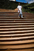 Serro_MG, Brasil...Escadaria da Igreja Matriz de Nossa Senhora da Conceicao esta situada no municipio de Serro, Minas Gerais. ..The stairway of the Church Nossa Senhora da Conceicao in Serro. ..Foto: JOAO MARCOS ROSA /  NITRO