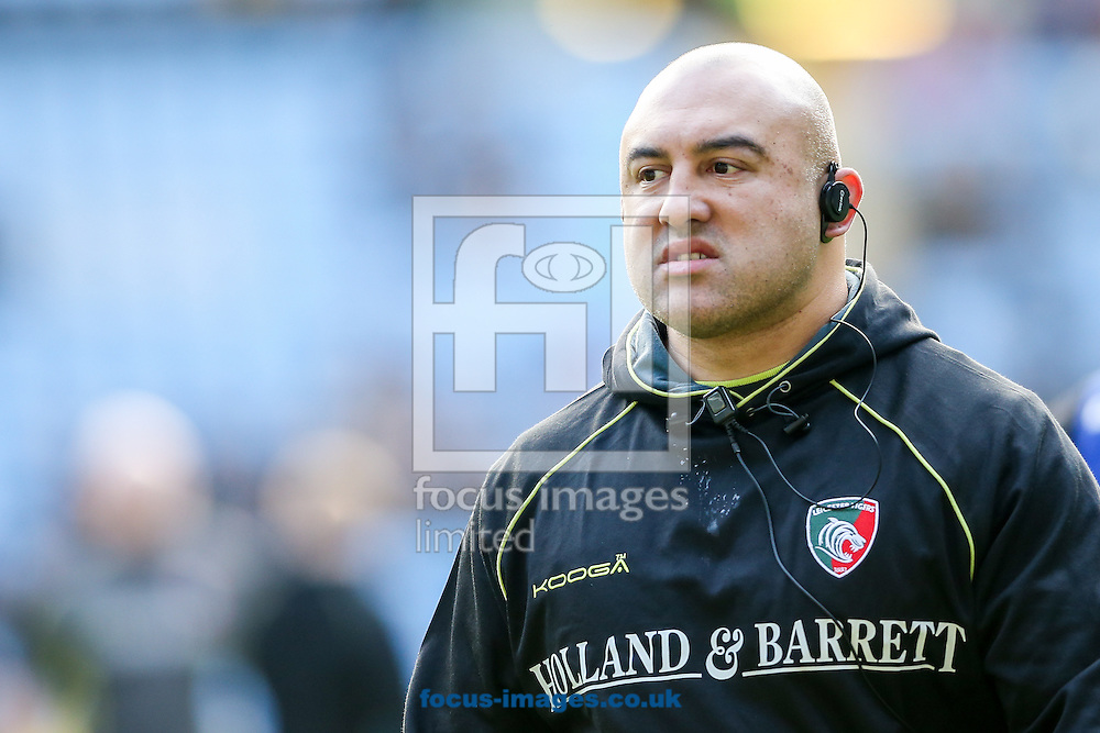 Leicester Tigers scrum coach Boris Stankovich during the Aviva Premiership match at the Ricoh Arena, Coventry<br /> Picture by Andy Kearns/Focus Images Ltd 0781 864 4264<br /> 08/01/2017