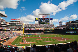 Target Field, Minnesota Twins vs. Toronto Bluejays. Minneapolis Minnesota.