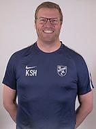 FODBOLD: Cheftræner Kim Schrøder Hansen ved Ølstykke FC's officielle fotosession den 27. marts 2018 på Ølstykke Stadion. Foto: Claus Birch