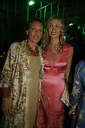 Sara Carello and Allegra Hicks, Gala champagne reception and dinner in aid of CLIC Sargent.  Grosvenor House Art and Antiques Fair.  Grosvenor House. Park Lane. London. 15 June 2006. ONE TIME USE ONLY - DO NOT ARCHIVE  © Copyright Photograph by Dafydd Jones 66 Stockwell Park Rd. London SW9 0DA Tel 020 7733 0108 www.dafjones.com