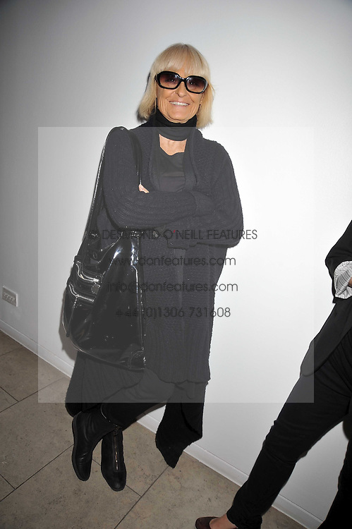 Biba founder BARBARA HULANICKI at the MAC Salutes party paying tribute to renowned makeup artists held at The Hosptal, Endell Street, London on 22nd February 2009.