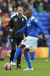 Birmingham City's Lloyd Dyer is expected to make his debut for Birmingham - Photo mandatory by-line: Dougie Allward/JMP - Mobile: 07966 386802 - 24/01/2015 - SPORT - Football - Birmingham - ST Andrew's Stadium - Birmingham City v West Bromwich Albion - FA Cup Forth Round