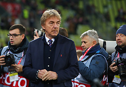 November 15, 2018 - Gdansk, Pomorze, Poland - Zbigniew Boniek during the international friendly soccer match between Poland and Czech Republic at Energa Stadium in Gdansk, Poland on 15 November 2018  (Credit Image: © Mateusz Wlodarczyk/NurPhoto via ZUMA Press)