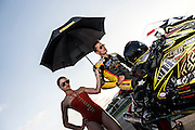 July 2014, JEG Racing Team shooting with driver Chris Cotton Russell