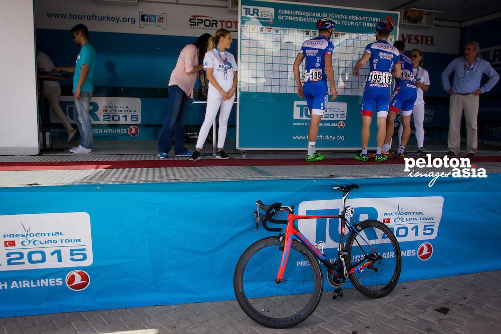 Tour of Turkey 2015/ Stage 3/ Kemer to Elmali/ 165 km/ Wanty/ Groupe Gobert