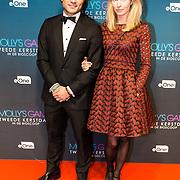 NLD/Amsterdam/20171212 - Première Molly's Game, Alkan Coklu en partner Melissa Drost
