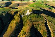 France, Languedoc Roussillon, Cevennes, Lozère, Mont Lozère, plateau des Bondons, la Cham des Bondons, vue aérienne