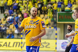 Accambray Wiliam of RK Celje Pivovarna Lasko during VELUX EHF Champions League handball match between RK Celje Pivovarna Lasko vs MOL Pick Szegad on the February 10. 2019, Celje, Slovenia. Photo by Matic Ritonja / Sportida