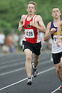 Hamilton, Ontario ---07/06/08--- Brandon Huzevka of Northern  in Sarnia competes in the 800 meters at the 2008 OFSAA Track and Field meet in Hamilton, Ontario..Sean Burges