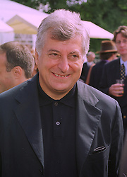 MR PATRICIO BERTELLI president of fashion house Prada, at a reception in Paris on 6th September 1998.MJR 44