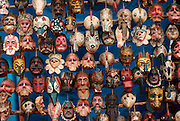 GUATEMALA, MARKETS Chichicastenango; dance masks