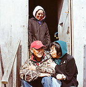 Friends in Newtok, Alaska. 2008