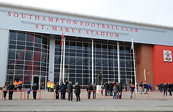 St Mary's Stadium - Photo mandatory by-line: Paul Knight/JMP - Mobile: 07966 386802 - 04/01/2015 - SPORT - Football - Southampton - St Mary's Stadium - Southampton v Ipswich Town - FA Cup Third Round