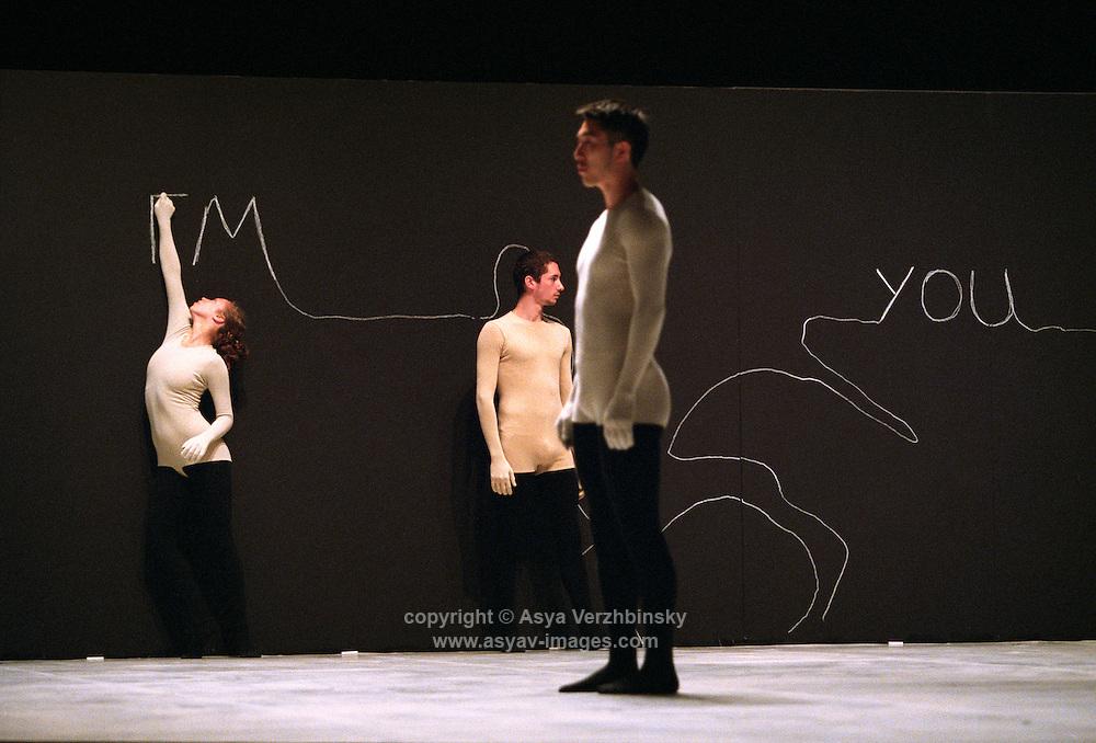 """Batsheba Dance Company in """"Naharin's Virus"""""""