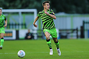 Forest Green Rovers Kevin Dawson(18) runs forward  during the EFL Trophy match between Forest Green Rovers and U21 Southampton at the New Lawn, Forest Green, United Kingdom on 3 September 2019.