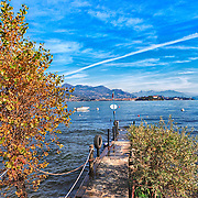 Images of the Maggiore lake