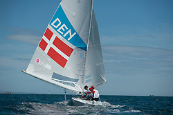 2012 Olympic Games London / Weymouth<br /> <br /> Star practice race<br /> Match RaceDENMeldgaard Pedersen Lotte, Boidin Susanne, Schmidt Tina