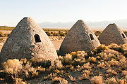 Three of the charcoal ovens in Nevada. They are no longer used. Missoula Photographer