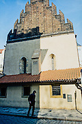 the oldest surviving synagogue in Prague, Czech Republic
