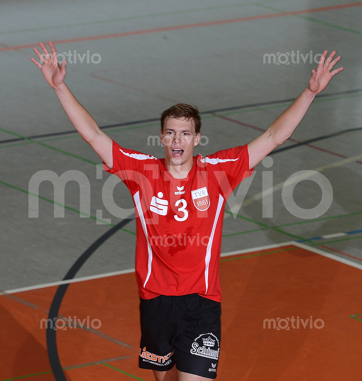 Volleyball 1. Bundesliga  Saison  2012/2013  05.09.2012 TV Rottenburg  - SV Fellbach Michael Neumeister (TV Rottenburg)