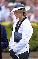 """PRINCESS DIANA.attending the Melbourne Cup, Flemington, Melbourne_05/11/1985.27 years later almost to the day Prince Charles returns to Melbourne Cup with Camilla, Duchess of Cornwall..Mandatory credit photo: ©Francis Dias/NEWSPIX INTERNATIONAL..(Failure to credit will incur a surcharge of 100% of reproduction fees)..                **ALL FEES PAYABLE TO: """"NEWSPIX INTERNATIONAL""""**..IMMEDIATE CONFIRMATION OF USAGE REQUIRED:.DiasImages, 31a Chinnery Hill, Bishop's Stortford, ENGLAND CM23 3PS.Tel:+441279 324672  ; Fax: +441279656877.Mobile:  07775681153.e-mail: info@newspixinternational.co.uk"""