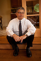 01 Oct 2011, Washington, DC, USA --- sitting portrait of Senator Al Franken --- Image by © Owen Franken/Corbis