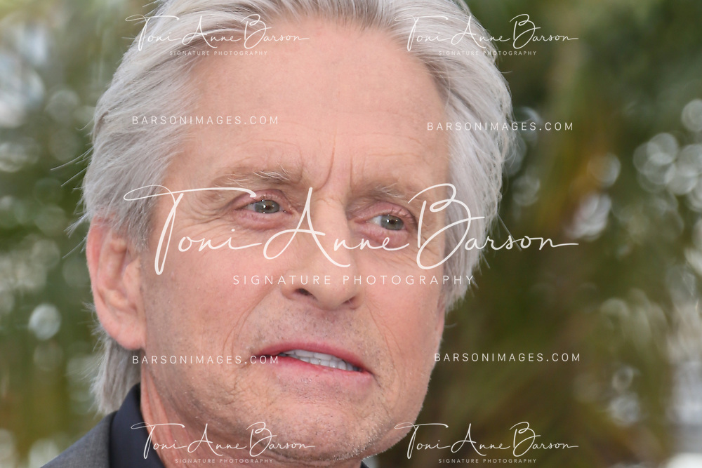 CANNES, FRANCE - MAY 21:  Michael Douglas attends the photocall for 'Behind the Candelabra' during the 66th Annual Cannes Film Festival at Palais des Festivals on May 21, 2013 in Cannes, France.  (Photo by Tony Barson/FilmMagic)