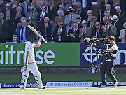England Joe Root is out walking to the pavilion during the first day of the Investec 1st Test  match between England and New Zealand at Lord's Cricket Ground, St John's Wood, United Kingdom on 21 May 2015. Photo by Ellie  Hoad.