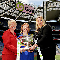 10 June 2009; Joan O'Flynn, President of the Camogie Association, and Denise Lord, Gala, Customer Services Manager, right, with Deirdre Murphy, Clare, and the O'Duffy cup at the launch of the Gala All-Ireland Championships. Croke Park, Dublin. Picture credit: Pat Murphy / SPORTSFILE *** NO REPRODUCTION FEE *** *** Local Caption *** <br /> <br /> <br /> <br />  <br /> <br /> <br /> <br /> <br /> <br /> <br /> <br /> <br /> <br /> <br /> <br /> <br /> <br /> <br /> <br /> <br /> <br /> <br /> <br /> <br /> <br /> <br /> <br /> <br /> <br /> <br /> <br /> <br /> <br /> <br /> <br /> <br /> <br /> <br /> <br /> <br /> <br /> <br /> <br /> <br /> <br /> <br /> <br /> <br /> <br /> <br /> <br /> <br /> <br /> <br /> <br /> <br /> <br /> <br /> <br /> <br /> <br /> <br /> <br /> <br /> <br /> <br /> <br />  *** Local Caption ***