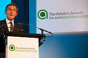 Neil MacGregor director of the British Museum talks at the 2010 Ashden Awards ceremony at the Royal Geographic Society.