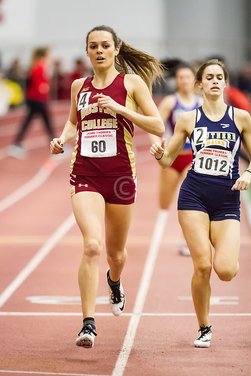 400, Boston College, 60, Boston University John Terrier Invitational Indoor Track and Field