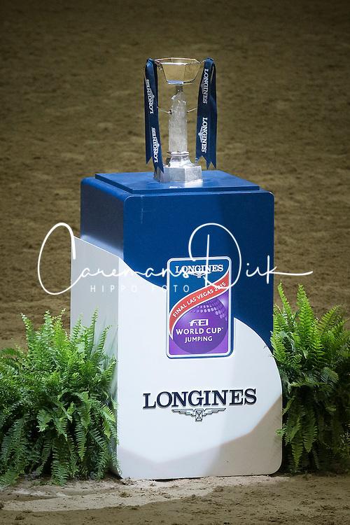 Trophy<br /> Longines FEI World Cup™ Jumping Final II<br /> Las Vegas 2015<br />  © Hippo Foto - Dirk Caremans<br /> 18/04/15