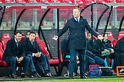 ALKMAAR - 26-10-2016, AZ - FC Emmen, AFAS Stadion, teleurstelling, AZ trainer John van den Brom