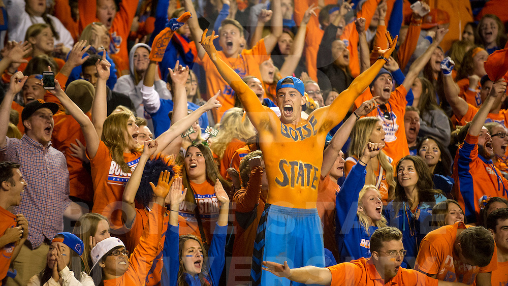 Boise State Football vs Washington, Albertsons Stadium, Allison Corona Photo