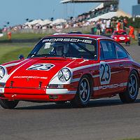 1965 Porsche 911 2-litre driven by James Toye in the Fordwater Trophy at Goodwood Revival 2019