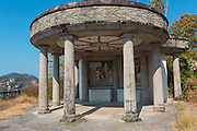 Parthenon replica, built by Mexico City police chief Aturo Durazo Mereno, Zihuataneo, Guerrero, Mexico