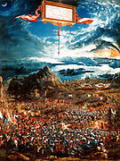 The Battle of Alexander at Issus (German: Alexanderschlacht) is a 1529 oil painting by the German artist Albrecht Altdorfer (c. 1480–1538). It portrays the 333 BC Battle of Issus, in which Alexander the Great secured a decisive victory over Darius III of Persia and gained crucial leverage in his campaign against the Persian Empire.