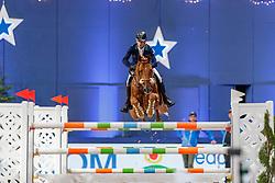 LYNCH Denis (IRL), Rubens Ls la Silla<br /> München - Munich Indoors 2019<br /> CSI4* - Großer Preis der Deutschen Kreditbank AG (Große Tour)<br /> Springprüfung mit Stechen, international<br /> Höhe: 1.55m<br /> 24. November 2019<br /> © www.sportfotos-lafrentz.de/Stefan Lafrentz