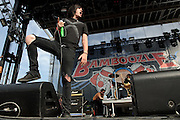 Photos of Escape The Fate performing at The Bamboozle music festival in East Rutherford, New Jersey on May 1, 2010.