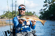 Kayak Fishing near Charleston SC with Morgan Mason, Capt, Justin Carter and Josh Kaywood.