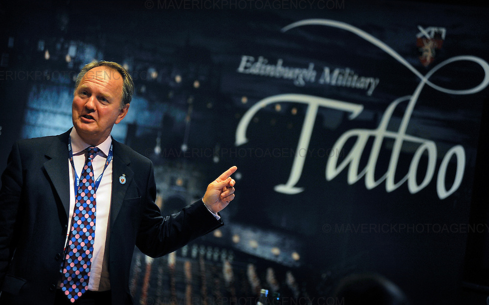 Newly appointed Tattoo Chief Executive and Producer, Major General Euan Loudon today announced details of the 60th Edinburgh Military Tattoo at Edinburgh Castle.  The Military Tattoo runs from 7th-29th August and will see over 1000 performers entertain crowds at the castle.