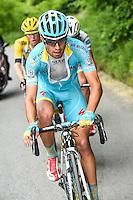 Landa Meana Mikel - Astana - 26.05.2015 - Tour d'Italie - Etape 16 - Pinzolo / Aprica<br />Photo : Pool / Sirotti / Icon Sport *** Local Caption ***