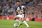 West Bromwich Albion defender Kieran Gibbs (3) turns with the ball during the EFL Sky Bet Championship play-off second leg match between West Bromwich Albion and Aston Villa at The Hawthorns, West Bromwich, England on 14 May 2019.