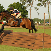 Cristin Stoop and Isengart at the Florida International Three Day Event held April 17-20, 2008 in Ocala, Florida.