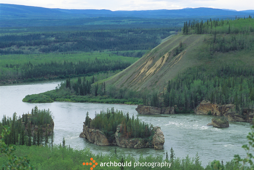 Five Finger Falls, Yukon