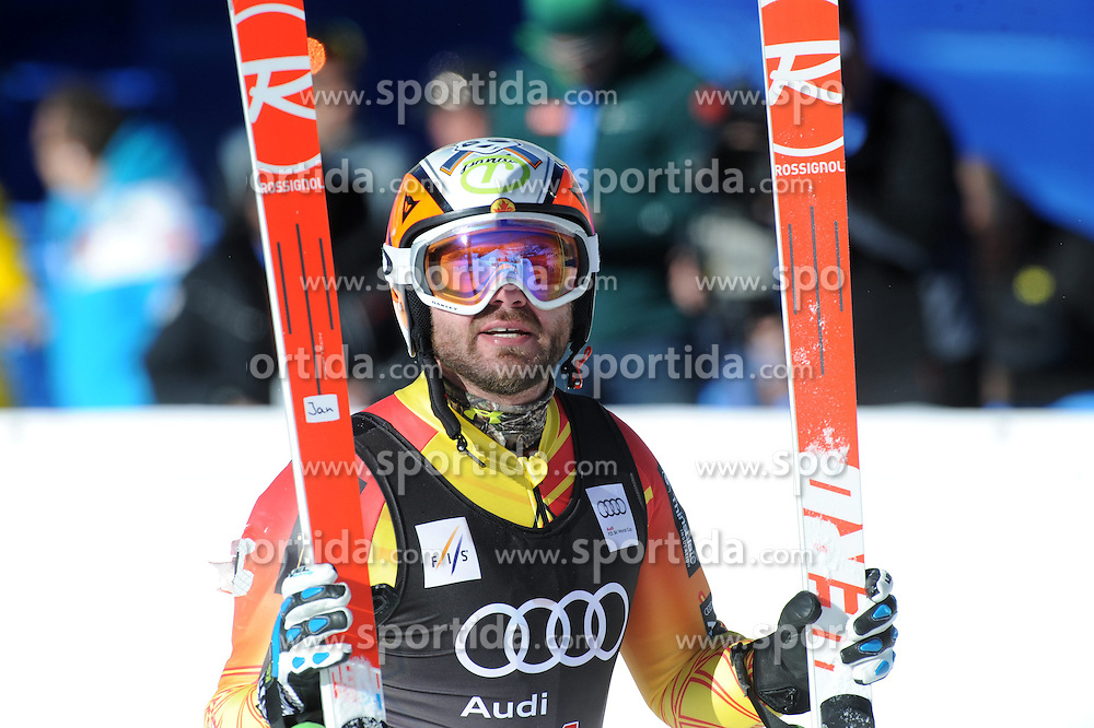 02.12.2014, Birds of Prey Course, Beaver Creek, USA, FIS Weltcup Ski Alpin, Beaver Creek, Herren, Abfahrt, 1. Training, im Bild Jan Hudec (CAN) // Jan Hudec of Canada reacts during the men's Downhill 1st practice run of FIS Ski World Cup at the Birds of Prey Course in Beaver Creek, United States on 2014/12/02. EXPA Pictures © 2014, PhotoCredit: EXPA/ Erich Spiess