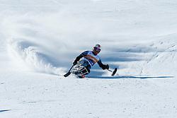 PARK Jong Seork, KOR, Downhill, 2013 IPC Alpine Skiing World Championships, La Molina, Spain