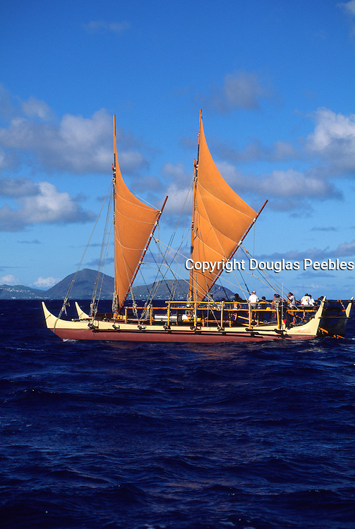 Hokulea Sailing Canoe (editorial use only-no property release)<br />